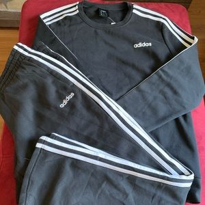 Adidas 3 stripes set large